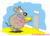 Animiert Gif gratis - Maus Cartoon